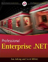 Cover of Professional Enterprise .NET