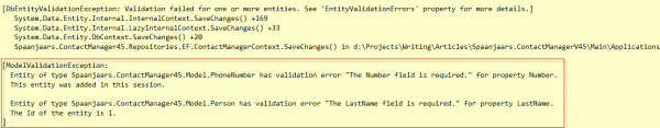 Multiple Error Messages