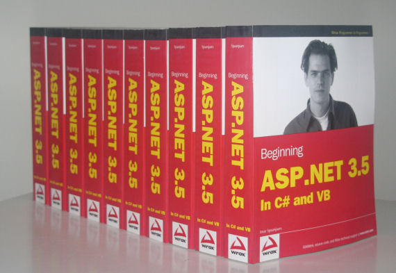 My 10 copies of Beginning ASP.NET 3.5