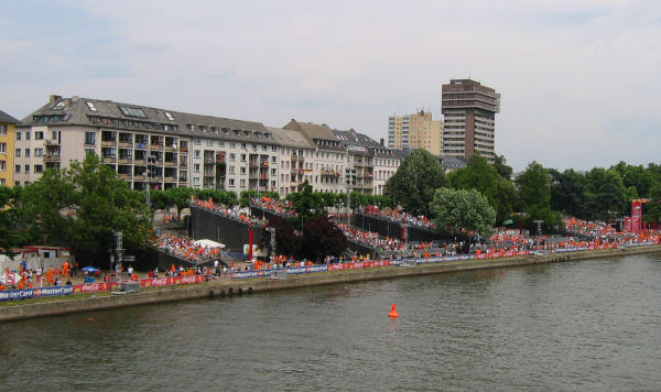 Fan Fest at the Main river banks