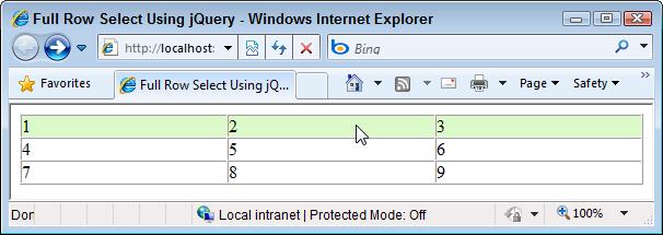 How Do I Make a Full Table Row Clickable Using jQuery?