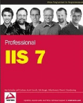 Cover of Professional IIS 7